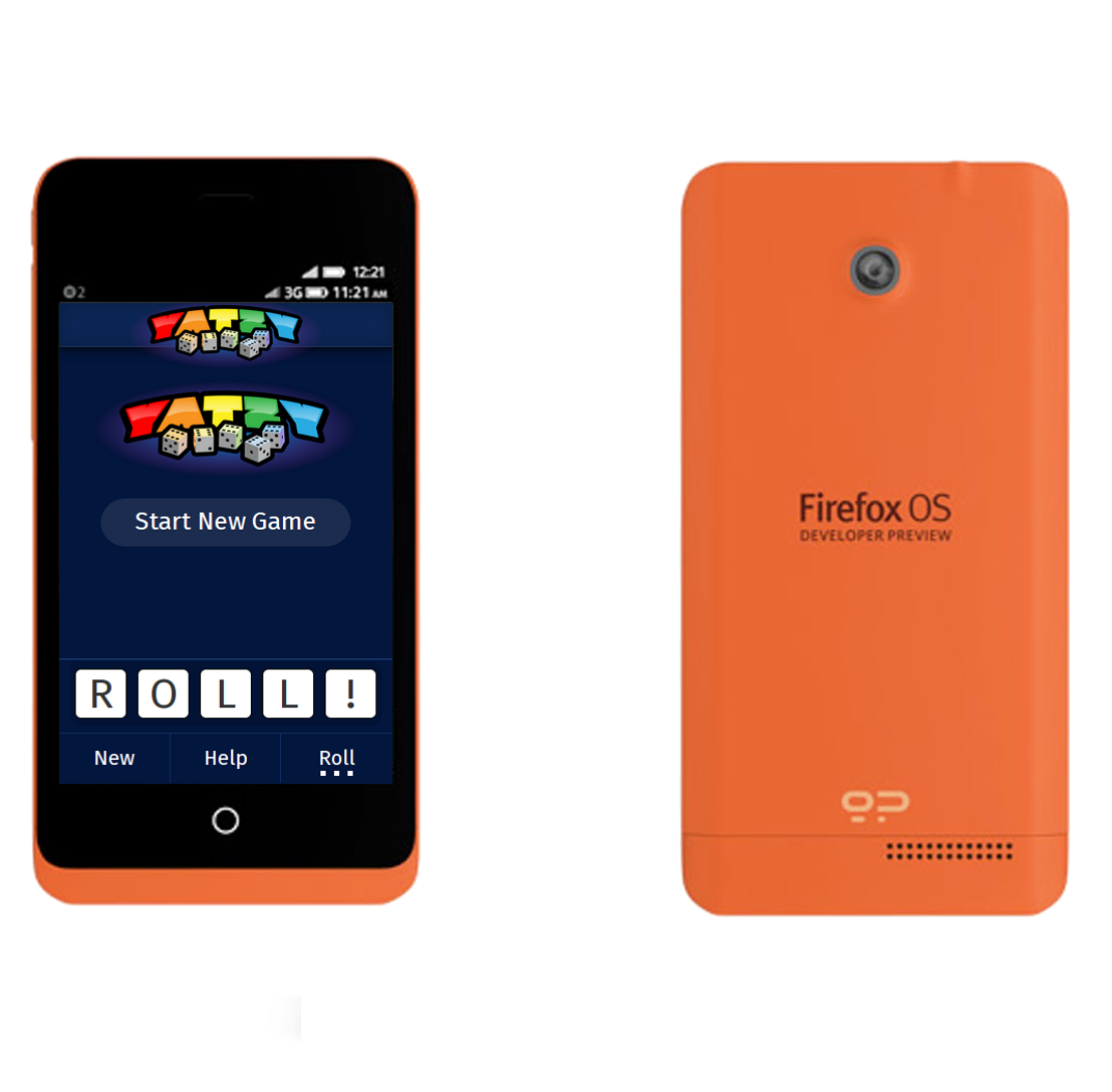 Yatzy on Firefox OS